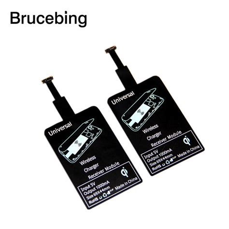 Termurah Samsung Adaptor Charger Steker a universal qi wireless charger diy transmitter patch accept receiver adapter pad sticker for