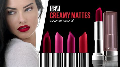 Maybelline New York discover the new color sensational mattes lipstick