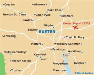 maps of exeter of exeter map of exeter
