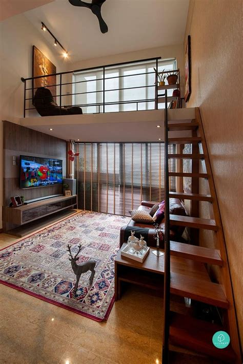 amazing loft apartments  singapore small loft