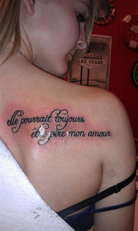 french tattoo tattoos quotes quotesgram