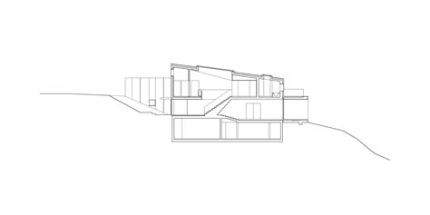 country section country house e2a archdaily