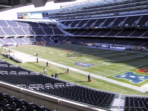Soldier Field Media Deck by Soldier Field Section 230 Chicago Bears Rateyourseats