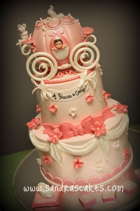 Baby Shower Princess Cakes princess baby shower cake