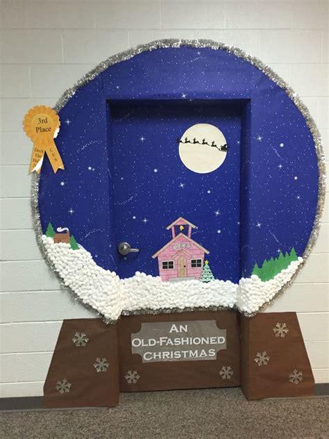 inspiracion  decorar puertas de navidad  fotos