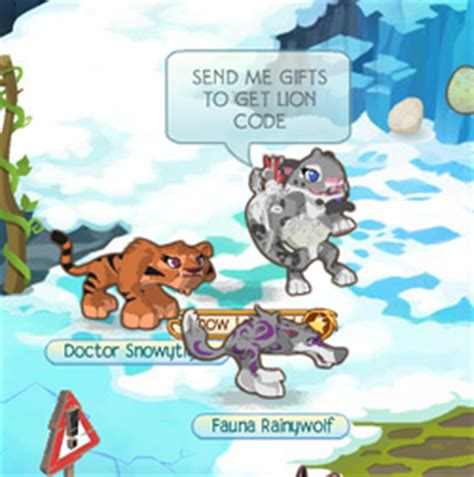 Animal Jam Gift Cards For Arctic Wolf - lion arctic wolf snow leopard code scam animal jam icyfire