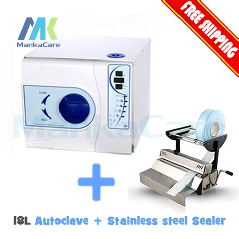tattoo equipment sterilization without autoclave dental sealing machine and 18 l autoclave without printer