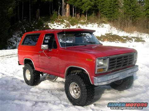 1982 Ford Bronco by 1982 Ford Bronco Pictures Photos And Sounds