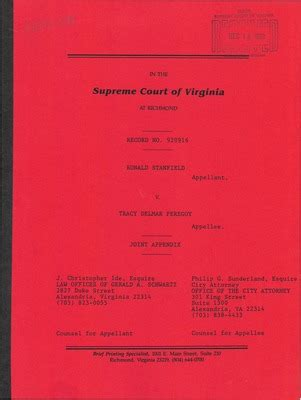 Alexandria Va Court Records Virginia Supreme Court Records Volume 245 Virginia Supreme Court Records