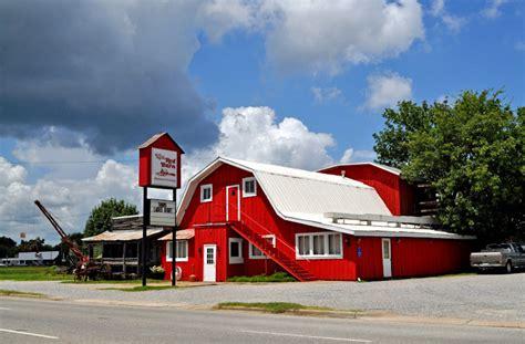 The Rod Barn barn restaurant at demopolis al rural southwest