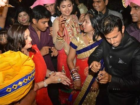 deepika singh sister marriage wedding photos diya aur baati hum say deepika singh and