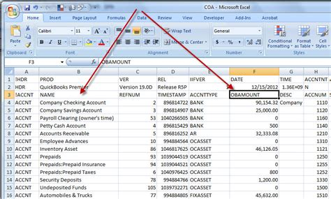 chart of accounts excel template sle chart of accounts photography business