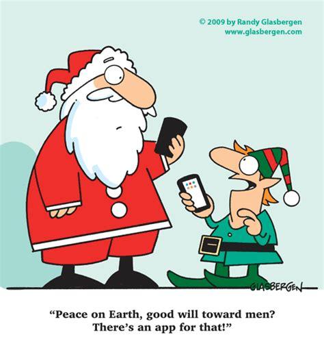 cartoon christmas cards randy glasbergen glasbergen