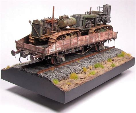 Kaos Oshkosh White Beep Beep 20t w s 60 sg 65 1 35 scale model railway wwi wwii