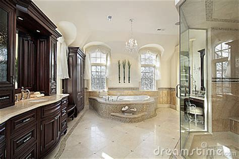 how big should a master bathroom be large master bath royalty free stock images image 12662549