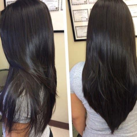 pelo corte en v cortes de pelo en uve