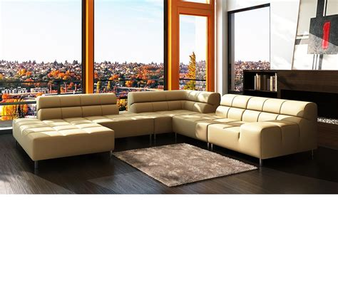 modern bonded leather sectional sofa dreamfurniture com 5058 modern textured bonded leather
