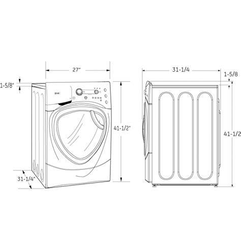 washer and dryer dimensions apartment size washer and dryer dimensions stackable washer dryer dimensions built in pedestals