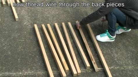 Folding Camp Chairs How To Make A Folding Kentucky Stickchair Youtube