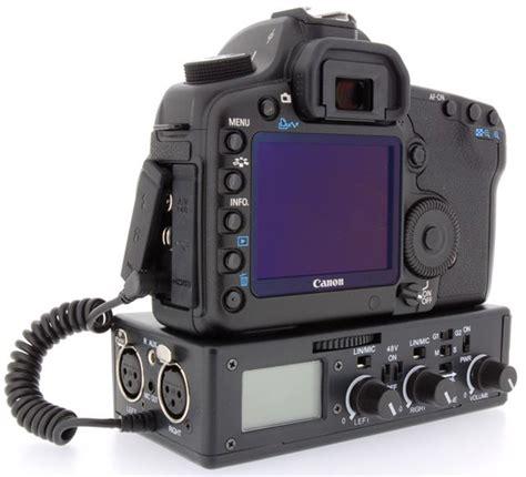 Audio Xlr Canon Cewek Atau slashcam news xlr audio for the canon 5d mkii