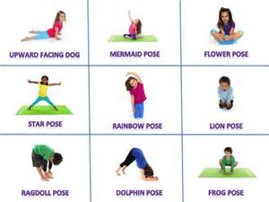 Yoga poses and names for kids newhairstylesformen2014 com