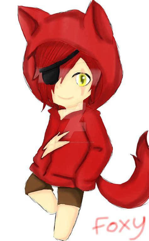 anime chibi editor chibi foxy by krazykraftsbert on deviantart