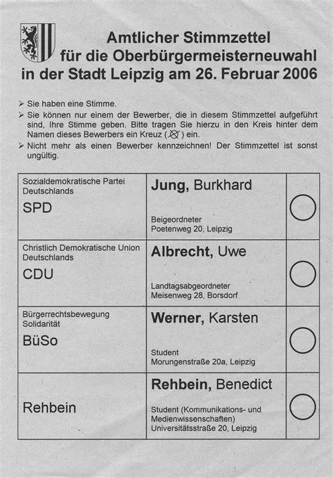 Word Vorlage Wahlzettel Stimmzettel