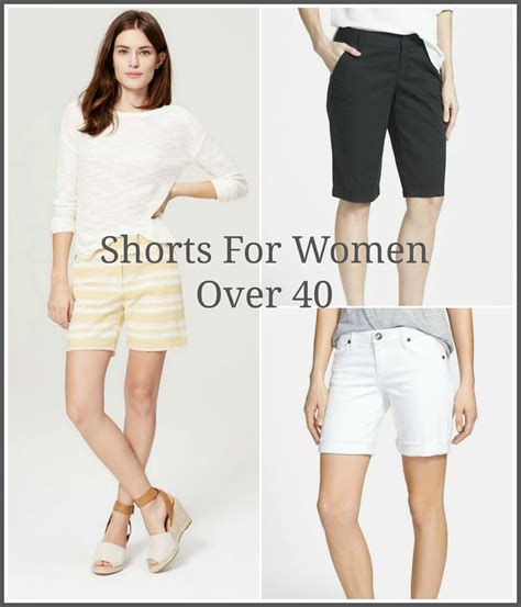 best ladies denims 40 shorts for women over 40 grace beauty