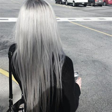 Haare Tönen by Luxus Haare Silber Grau Grafiken