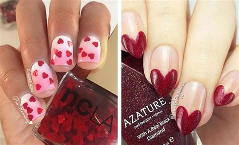 valentines day nail 35 s day nail designs stayglam