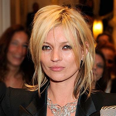 Kate Moss Cuts Bangs Em Or Em by Kate Moss Hair Trend Bob Bobs Instyle Uk