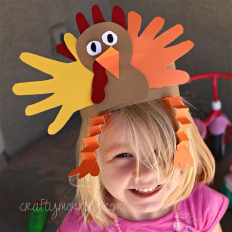 printable turkey headband craft 20 ways to make thanksgiving extra special fox hollow