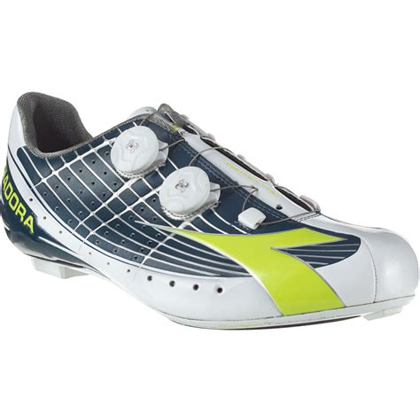 diadora road bike shoes diadora vortex pro movistar cycling shoe competitive cyclist
