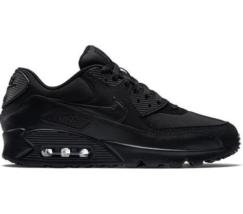 Air Max 90 Schwarz 3658 by Nike Air Max 90 Le Chaussures Noir