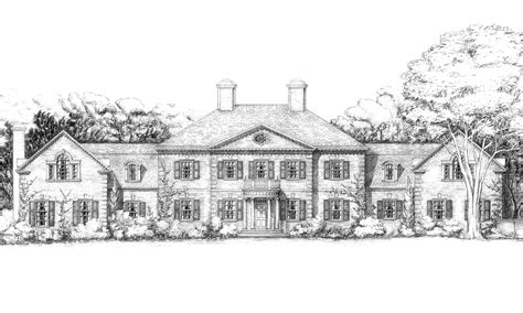 georgian house designs floor plans uk american georgian country house planned on the boards
