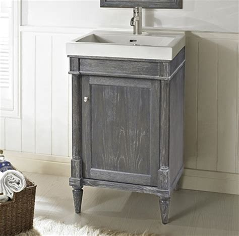 rustic chic bathroom vanity rustic chic 21x18 quot vanity silvered oak fairmont