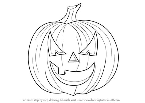 pumpkin sketches learn how to draw pumpkin step by