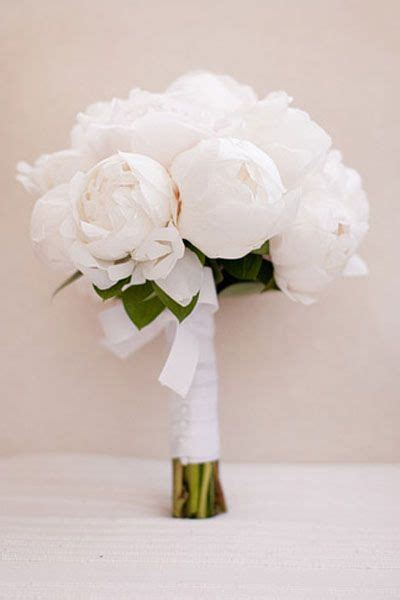 Wedding Bouquet Etiquette by Flower Guide Peonies White Peonies Bouquet Wedding And