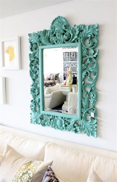 mirror frame decorating ideas 5 quick pick me up spray paint projects