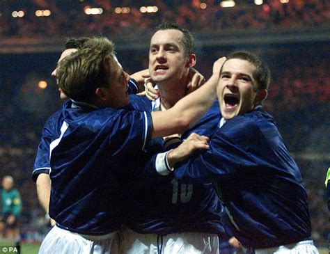 Mba When The Bs Wasnt Enough T Shirt by Stuart Mccall Has Many Auld Enemy Memories But Three