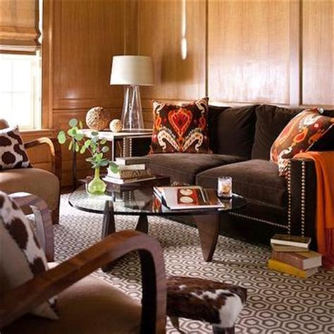chocolate brown sofa design decor photos pictures ideas inspiration paint colors and remodel