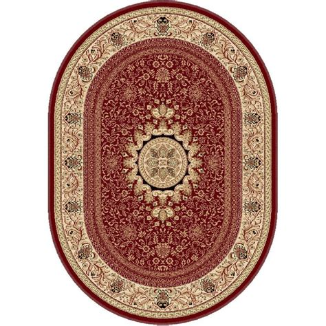7 x 9 oval area rugs tayse rugs sensation 6 ft 7 in x 9 ft 6 in traditional oval area rug 4670 7x10 oval