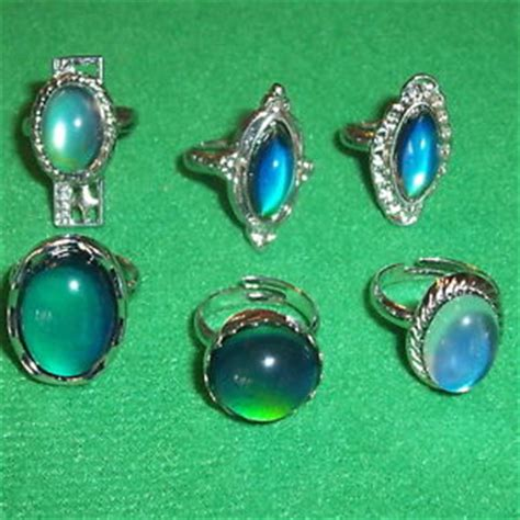 36 children rings 36 mood rings costume jewelry ring color changing