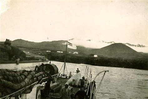 outboard boat motor freezing weather visit of the h m s a s natal to marion island april 1950