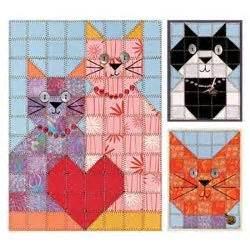 Patchwork Cat Quilt Block Patterns - 25 best ideas about paper quilt on scrapbook
