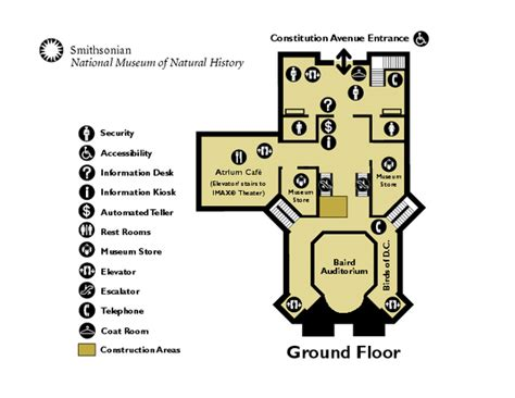 Smithsonian Castle Floor Plan by Bibliography Museum Of Natural History