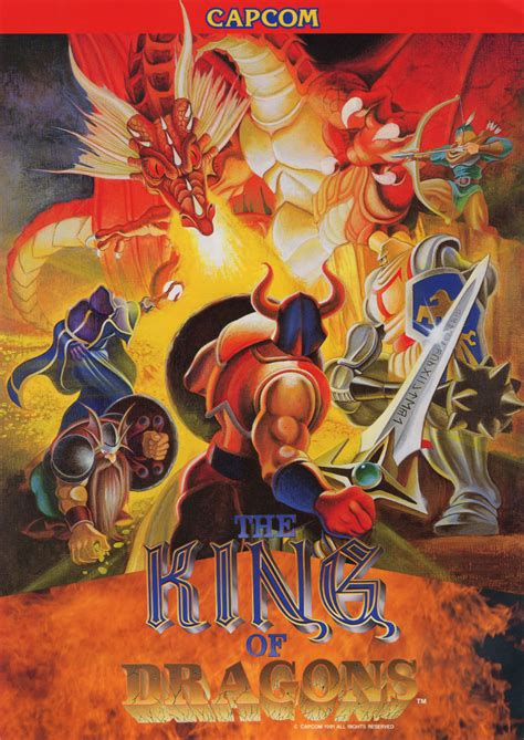 Poster Anime Poster The Legend Of Kin 1 the arcade flyer archive flyers king of