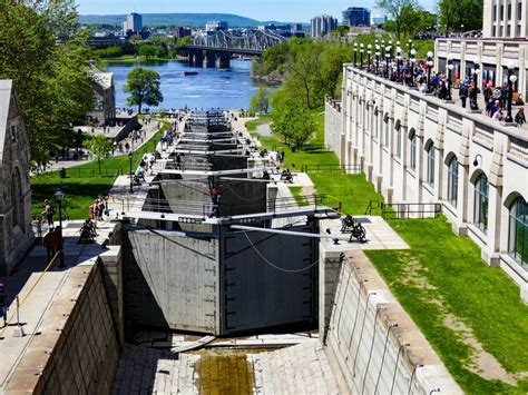 Canal Rideaux by The Rideau Canal A Unesco World Heritage Site Is A