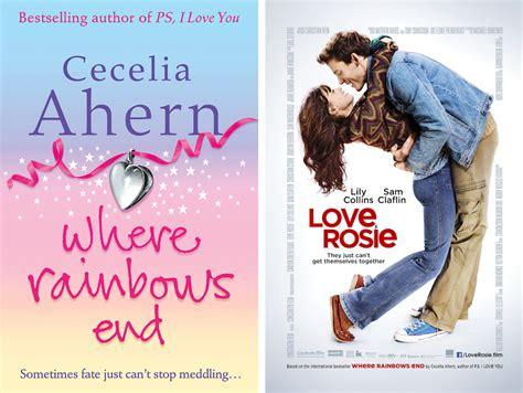 love rosie where rainbows book versus movie where rainbows end vs love rosie meridian reviews