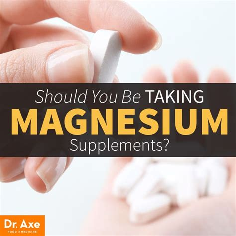 vitamin p supplements magnesium supplements should you take them